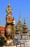 Demon in Wat Phra Kaew in Bangkok Royalty Free Stock Photo