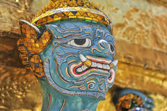 Demon of Wat Phrakaew Grand Palace Bangkok Royalty Free Stock Photos