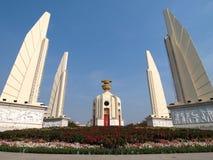 Demoncracy monument under blue sky Stock Photo