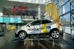 Demonctration van Opel Mokka Stock Afbeelding