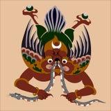 Demone del Bhutan Fotografie Stock Libere da Diritti