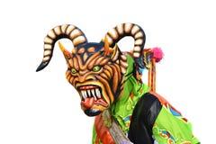 Demone di dancing Fotografie Stock Libere da Diritti