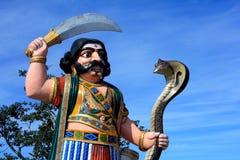 Demone mortale Mahishasura Fotografia Stock