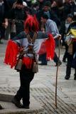 Demone rosso Fotografia Stock