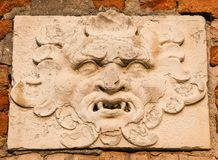 Demone a Venezia fotografia stock