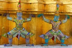 demonen figures mytiskt royaltyfri foto