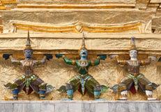 Demoner i buddism Royaltyfria Foton