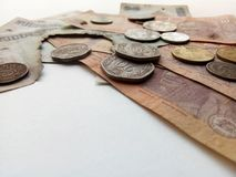 Demonetized Indiańska waluta Zdjęcie Royalty Free
