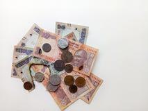Demonetized Indiańska waluta Zdjęcie Stock