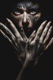 Demonic взгляд от ада Стоковое Изображение RF