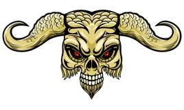 Demonic рожок Стоковая Фотография