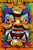 Demonic Gesicht Lizenzfreie Stockbilder