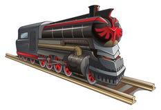 Demonic train Royalty Free Stock Images