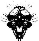 Demonio asustadizo Imagen de archivo libre de regalías