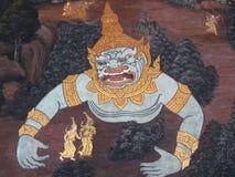 Demonio de Bangkok Imágenes de archivo libres de regalías