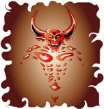 Demonio de Bull Imágenes de archivo libres de regalías