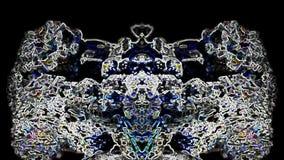 Demonio del baile, fondo místico almacen de metraje de vídeo