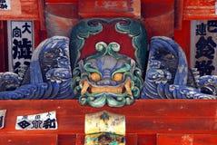 Demonio del templo Imagen de archivo