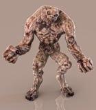 Demonio del zombi de los Undead Foto de archivo