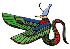 Demonio egipcio - dragón Imagen de archivo