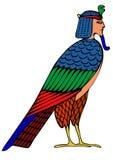 Demonio egipcio - pájaro de almas Imagenes de archivo