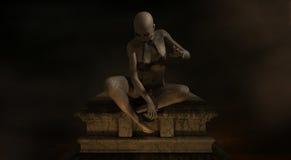 Demonio femenino Foto de archivo libre de regalías