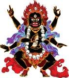 Demonio indio Fotos de archivo libres de regalías