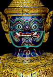 Demonio tailandés Fotografía de archivo libre de regalías