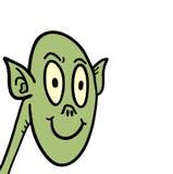 Demonio verde Imagen de archivo