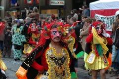 Demonios del baile Foto de archivo