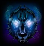 Demonisk hund Royaltyfri Fotografi
