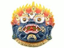 demonisk maskering Royaltyfria Foton