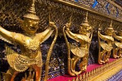Demons. Grand palace thailand, travel, asia Stock Image