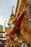 Demonstandbeeld in Wat Phra Kaew in Groot Paleis, Bangkok Royalty-vrije Stock Foto's
