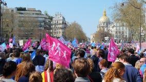 Demonstartion degli oppositori di matrimonio gay Immagine Stock