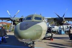 Demonstartion för L-410 Turbolet Royaltyfri Foto