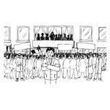 Demonstração ilustração do vetor