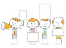 demonstração ilustração stock