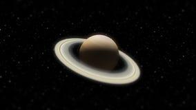 Demonstração aérea do close-up do sistema solar (HD) ilustração royalty free