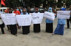Demonstração anticorrupção Foto de Stock Royalty Free