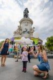 Demonstração antinuclear da guerra em Paris, França Fotografia de Stock