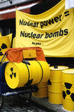 Demonstração da energia nuclear Fotografia de Stock Royalty Free