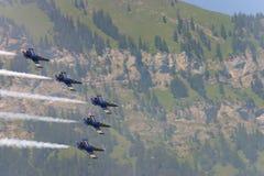 Demonstração da equipe de Breitling Imagens de Stock Royalty Free