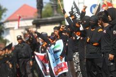 Demonstração de Síria foto de stock royalty free