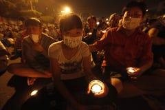A demonstração, diz o No. a China! Diga sim a Formosa Imagem de Stock