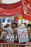 demonstração do Anti-presidente Imagens de Stock Royalty Free