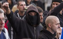 Demonstração do partido de trabalhador em Ostrava Foto de Stock Royalty Free