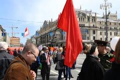 Demonstração do primeiro de maio Imagens de Stock