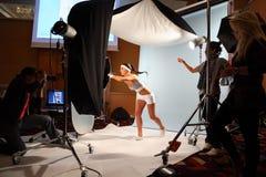 Demonstração do tiro do estúdio foto de stock royalty free