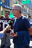 Demonstração em Marchena Sevilha 4 Fotografia de Stock Royalty Free